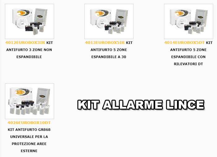 KIT-ALLARME-LINCE